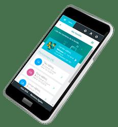 Visuel de l'espace Famille sur Smartphone