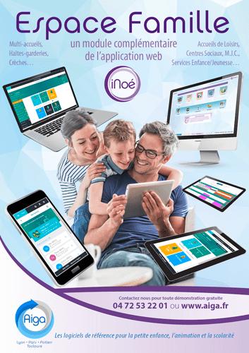 Visuel documentation iNoé logiciel espace famille