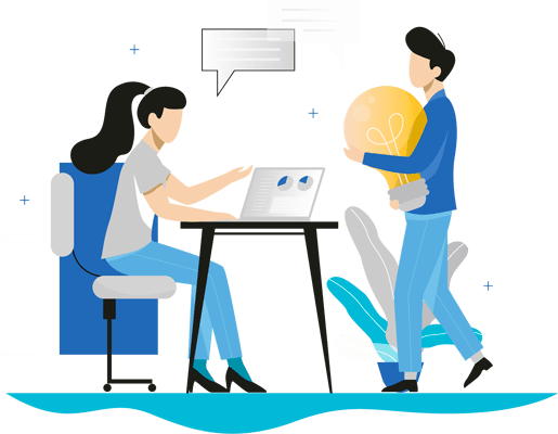 Illustration des nouvelles idées sur le recrutement