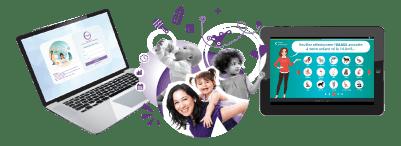 Visuel illustration du logiciel gestion petite enfance iNoé