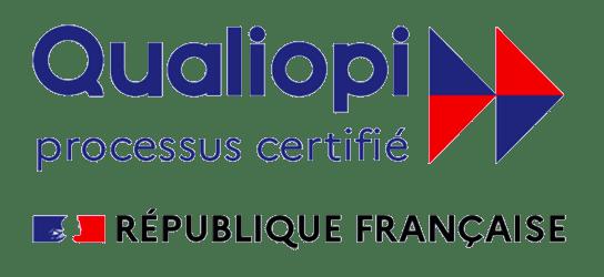 Logo certification Qualiopi - certification obtenue par Aiga