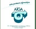 Visuel tapis souris partenaire Aiga